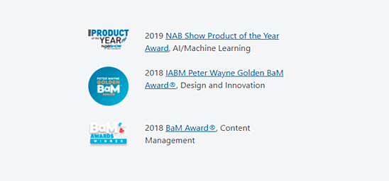 Azure Product of the Year