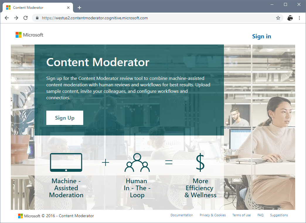 azure Content Moderator