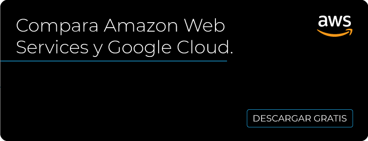 Amazon Web Services y Google Cloud